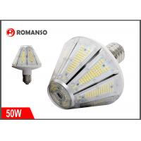 50W LED Corn Light Bulb 7500 Lumens 3000K Replacement for 250W Metal Halide Bulb , HID , CFL , HPS Manufactures