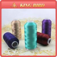 Buy cheap 100% rayon viscose dyed Machine Embroidery Threads smooth 5000m from wholesalers