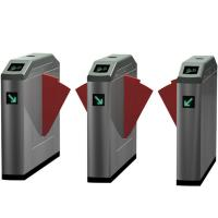 Buy cheap Counter Swing Security Turnstile Gate RFID Card Reader / Barcode Reader System from wholesalers