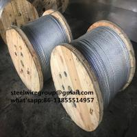 """Wholesale 3/8"""" guy wire with coil ASTM A 475 from china suppliers"""
