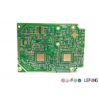 Buy cheap Solder Heavy Copper PCB , 4 Layers Copper Printed Circuit Board Green Solder Mask from wholesalers