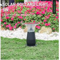 Buy cheap IP55 Solar Powered Bollard Lights Commercial / Outdoor Solar Floor Lamp Courtyard from wholesalers