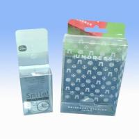 Buy cheap clear pvc box/ folding box/ packaging box/ from wholesalers
