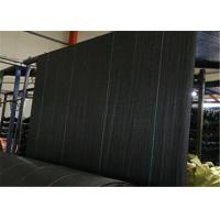 Buy cheap PP Geotextile Landscape Fabric ,Geosynthetics Material  Black Weed Barrier Mat With UV Treatment from wholesalers