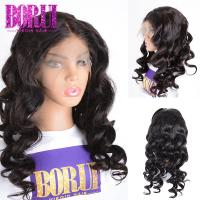 Buy cheap BORUI Lace Frontal Wig Loose Wave Human Hair 13*6 Lace Front Wig Natural Hairline from wholesalers