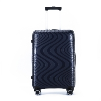 Wholesale Dark Blue MUTE Wheel ODM PP Trolley Luggage from china suppliers