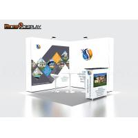 Buy cheap Indoor Quick Show Pop Up Exhibit Booth Event Stall Design For Trade Show Display from wholesalers