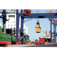 Buy cheap Mobile Shipping Container Crane / Double Girder Gantry Crane For Port from wholesalers