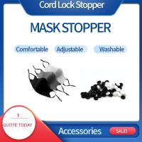 Buy cheap Black Color Plastic Cord Lock Stopper For Adjusted Face Mask Size from wholesalers