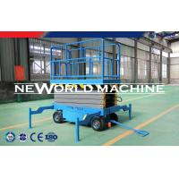 Wholesale 12m Working Height Air Scissors Hydraulic Platform Lift Strong Power from china suppliers