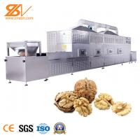 Buy cheap Walnut Industrial Microwave Dryer / Stainless Steel Drying And Sterilization Machine from wholesalers