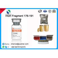 Buy cheap Fat Burning and Bodybuilding Growth Hormone HGH Fragment 176-191 CAS 158861-67-7 With 5mg/Vial 10mg/vials from wholesalers