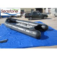 Buy cheap Aluminium Floor Motorised Inflatable Boat 1.25mm Hypalon Material Robust Structure from wholesalers