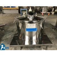 Buy cheap Flat Type Basket Type Centrifuge For Food / Grape Juice / Milk Filtration from wholesalers