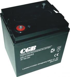 Electric Power Gel Lead Acid Battery 6V 100AH High Performance