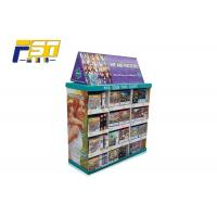 Buy cheap Flexible Multi - Section Corrugated Pallet Displays Unique Design For Supermarket from wholesalers