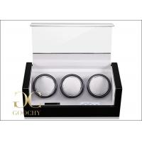 Buy cheap Men And Women 3 Watch Winder , Watch Storage Box With Winder from wholesalers