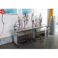 Buy cheap Semi Automatic Professional Butane Gas LPG Gas Refilling Machine  Max 500ml from wholesalers