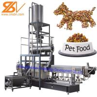 Buy cheap Automatic Pet Food Extruder , Twin Screw Extruder Machine 380v / 50hz from wholesalers