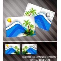 Wholesale Souvenir scenery lenticular 3D printing postcard 3D flip picture post card price from china suppliers