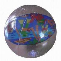 Wholesale Inflatable Beach Ball with 0.18mm PVC Thickness, Mesures 16-inch from china suppliers