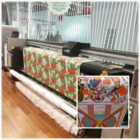 Buy cheap Computer Control Digital Fabric Printing Machine Flags Printing Printers Continous Ink Supply from wholesalers