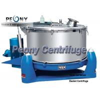 Buy cheap 3 Column PTDM Manual Food Centrifuge / Filtrating Equipment with Intermittent Operation from wholesalers