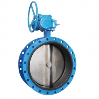 Buy cheap Worm Gear Actuated 150LB Flange Butterfly Valve from wholesalers