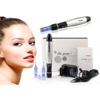 Buy cheap Home / SPA Use Micropigmentation Tattoo Machine Derma Stamp Electric Pen Silver Color from wholesalers