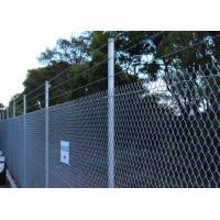 Buy cheap 50mm chain link fence posts from wholesalers