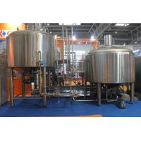 Buy cheap Stainless Steel 316 Turnkey Beer Brewing System Hand Or Automatic Control from wholesalers