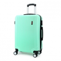 Wholesale Combination Lock ODM Light Green ABS PC Luggage from china suppliers
