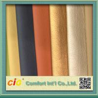 Buy cheap Shiny Surface Polyurethane Synthetic Leather For Sofa / Car Seat Cover 0.8-1.2mm Thickness from wholesalers