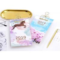 Buy cheap Hard Cover Customized Table Calendar With Logo Embossing Or Debossing from wholesalers