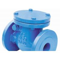 Wholesale DIN2531 Ductile Iron Swing Check Valve Manual Hydraulic Handwheel Operated from china suppliers