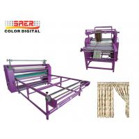 Buy cheap Rotary calander heat press machine Oil Heating Transfer machine many size available from wholesalers