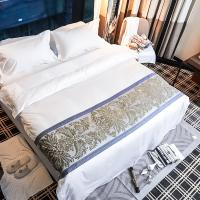 Buy cheap New design jacquard 100% cotton bed sheets 5 star hotel bed linen duvet cover set from wholesalers