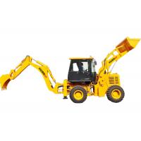Buy cheap Small Driven Backhoe Loader Bucket , WZ30-25 Log Wheel Loader Construction Machinery from wholesalers