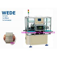 Buy cheap Adjustable 3 Phase Motor Winding Machine , Self Lock Automatic Coil Winding Machine  from wholesalers