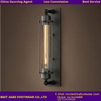Buy cheap High Quality New Design home interior decorator iron wall lighting from wholesalers