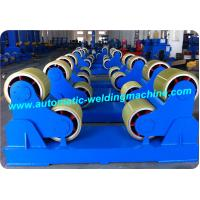 Self Aligning Pipe Welding Rotator With Loading Capacity 20T Manufactures