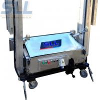 Buy cheap Easy Operation Cement Mortar Plastering Machine Render Up To750 M2/8h from wholesalers