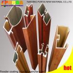 Buy cheap High Temp Heat Transfer Powder Coating , Aluminum Wood Grain Finish Powder Coating from wholesalers
