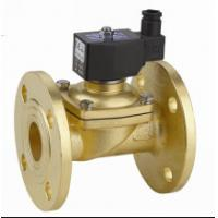 Two Way Flange Electric Solenoid Water Valve , Small Solenoid Valves For Water Manufactures