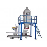 China Platform Automatic Weighing And Bagging Machine For Wheat / Malt on sale