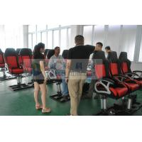 Buy cheap Hydraulic Electrical 7D 8D 9D Movie Theater Chairs , Fiber Glass with Rubber Cover from wholesalers