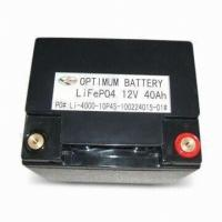 Buy cheap 12V 40AH Lithium Ion Batteries For UPS Lithium Phosphate Batteries LiFePO4 Battery Pack from wholesalers