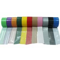 Buy cheap Book Binding Adhesive Vinyl Cloth Tape / Strong Sealing Coloured Cloth Tape from wholesalers