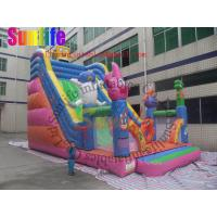 Buy cheap Exciting Waterproof Commercial Inflatable Slide for inflatable playground from wholesalers