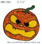 Buy cheap PVC Halloween Window Sticker Pumkin from wholesalers